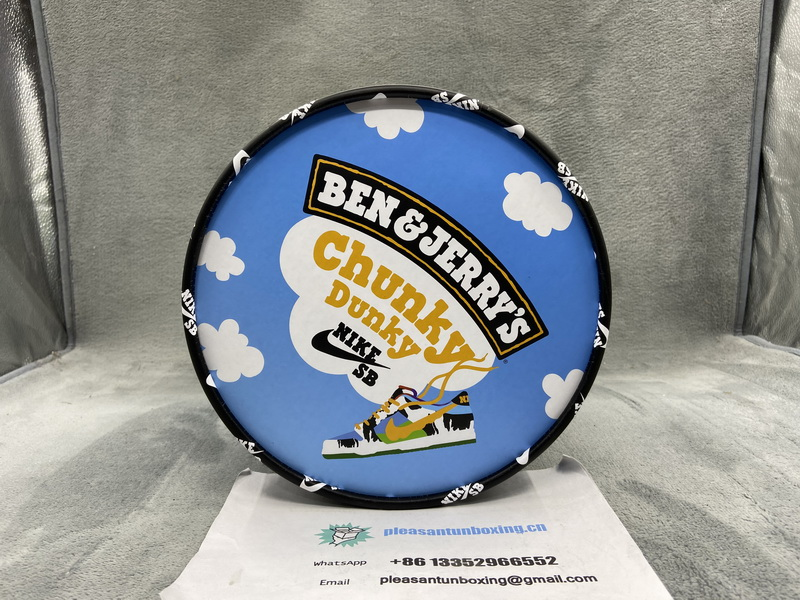 Authentic Ben & Jerry′s x Nike SB Dunk Low Pro QS(with Original Boxes)