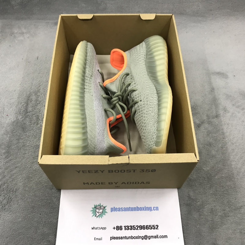 "Authentic Yeezy Boost 350 V2 ""Desert Sage"""