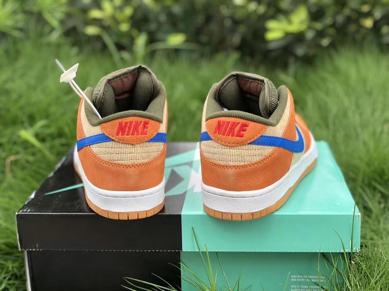 Authentic Nike SB Dunk Low Corduroy Dusty Peach