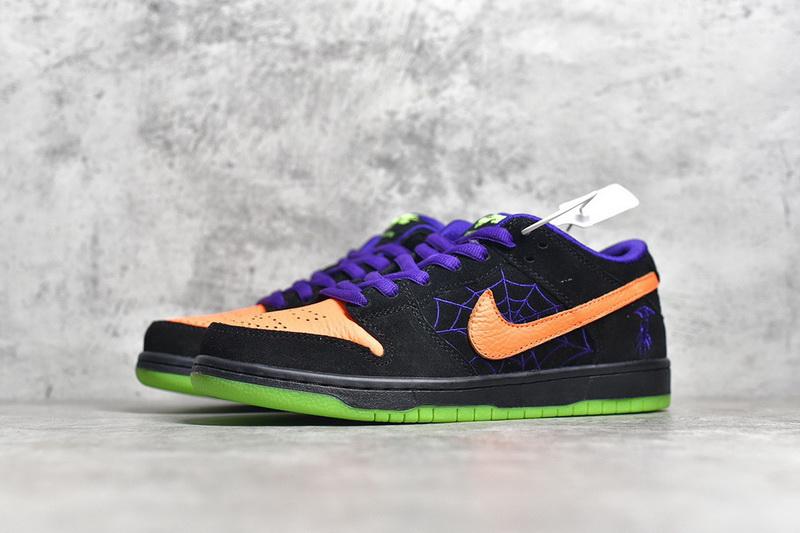 "Authentic Nike SB Dunk Low ""Night of Mischief"""