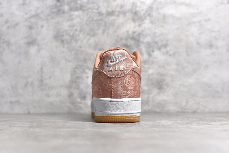 """Authentic CLOT x Nike Air Force 1 Low """"Rose Gold"""" Women Shoes"""