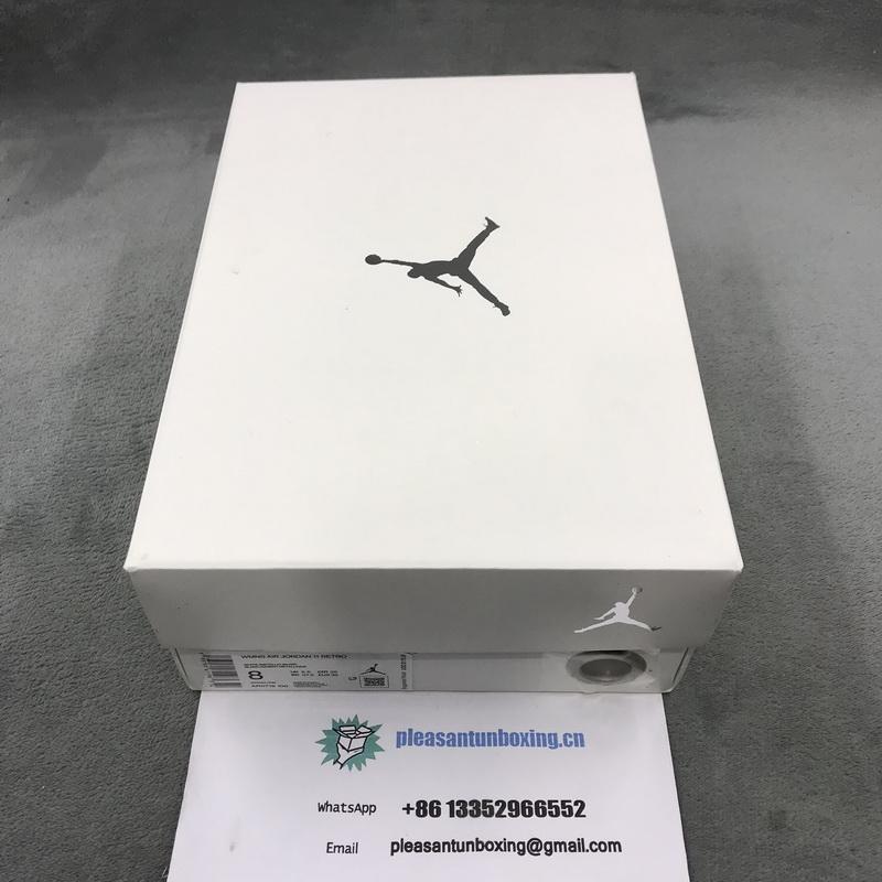 "Authentic Air Jordan 11 WMNS ""Metallic Silver"""