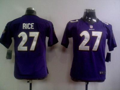 Elite Baltimore Ravens Kids Jersey-011