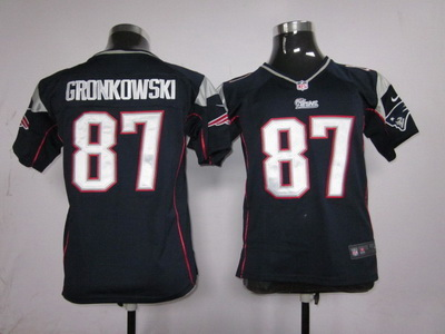 Elite New England Patriots Kids Jersey-004