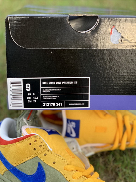 Authentic Nike SB Dunk Low Puff N Stuff