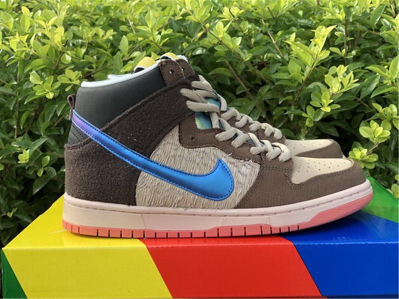 "Authentic Concepts x Nike SB Dunk High ""Mallard"""