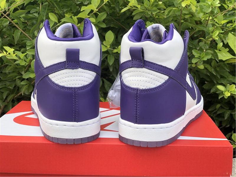 "Authentic Nike Dunk High WMNS ""Varsity Purple"""