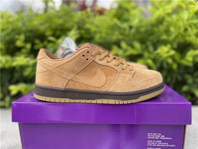 "Authentic Nike SB Dunk Low Pro ""Wheat Mocha"""