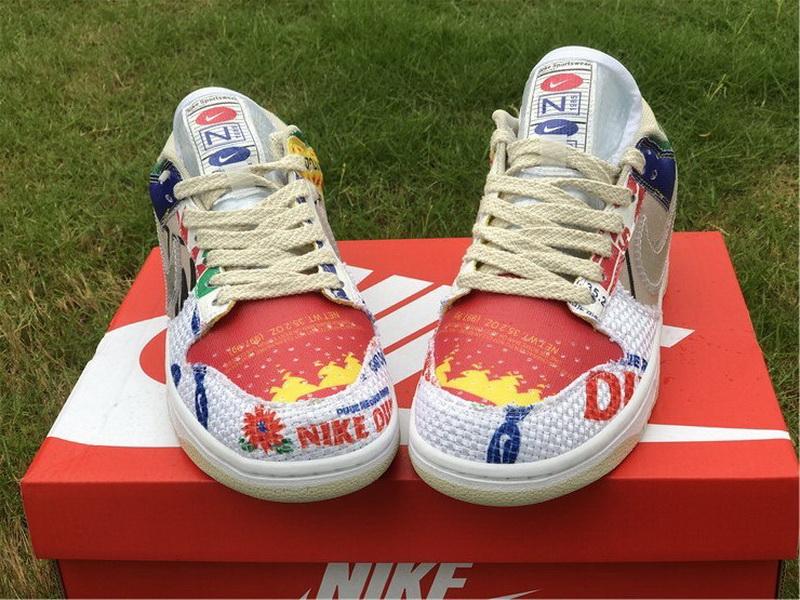 "Authentic Nike Dunk Low ""City Market"""
