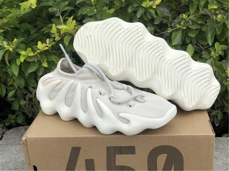 "Authentic Yeezy 450 ""Cloud White"""