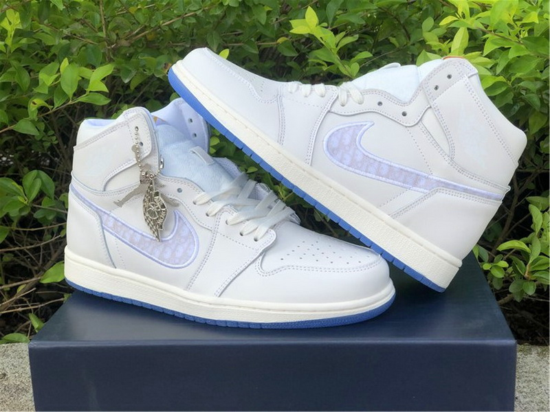 Dior x Air Jordan 1 White