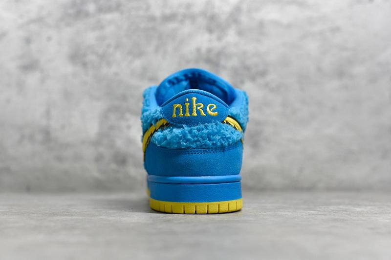 """Authentic Grateful Dead x Nike SB Dunk Low """"Blue Bear"""""""
