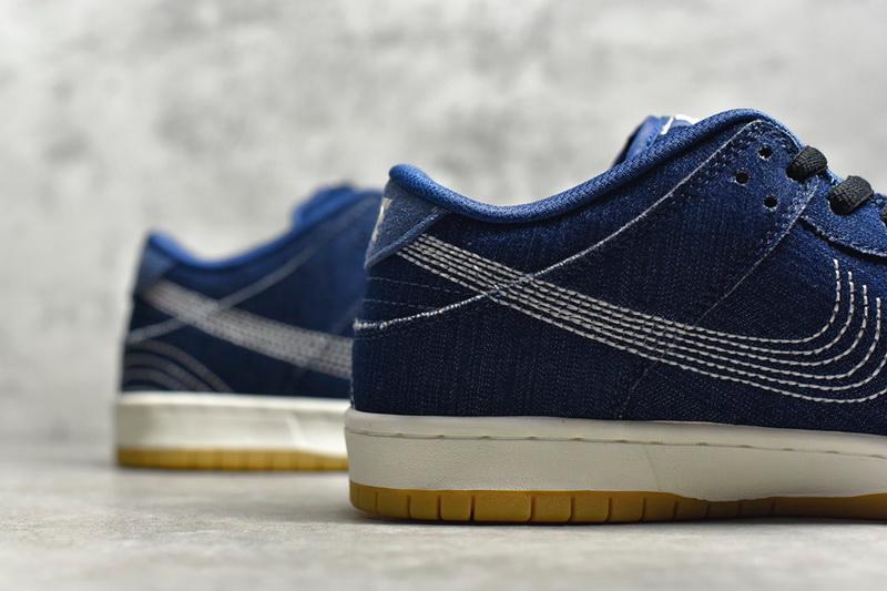 """Authentic Nike SB  Dunk Low Pro PRM""""Denim Gum"""""""