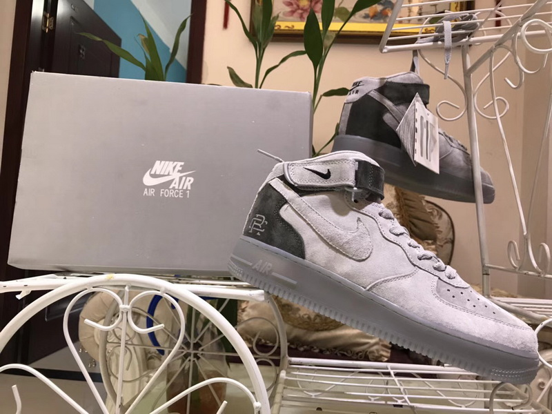 ... popular brand 05323 85424 Authentic Nike Air Force One Mid X Reigning  Champ ... 864543a3cfe0