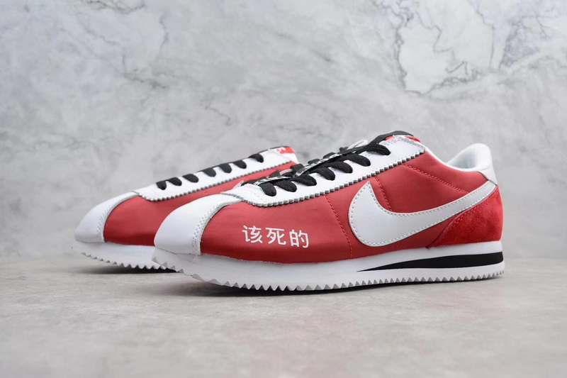 new product e1ba3 9a8b6 Authentic Nike Cortez X Kendrick Lamar Damn Red GS Nike Cortez