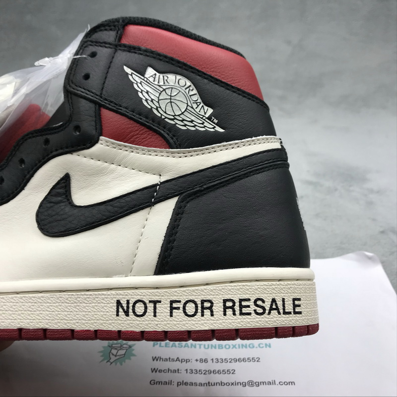 Authentic Air Jordan 1 NRG No L's