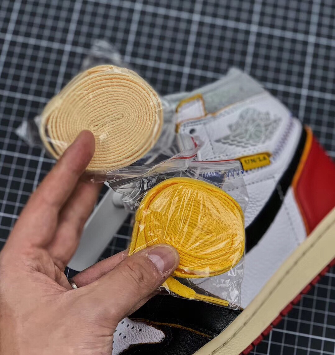 Authentic Union x Air Jordan 1 Retro High PK RNG