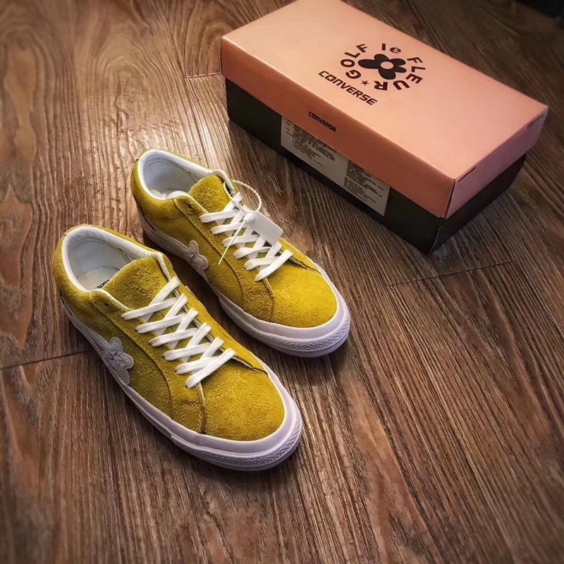 Authentic Creator X Converse One Star Ox Golf Le Fleur Yellow Converse
