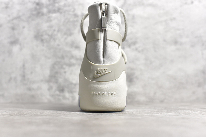 Authentic Nike Air Fear Of God 1 White