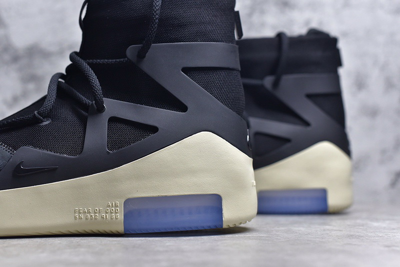 Authentic Nike Air Fear Of God 1 Black