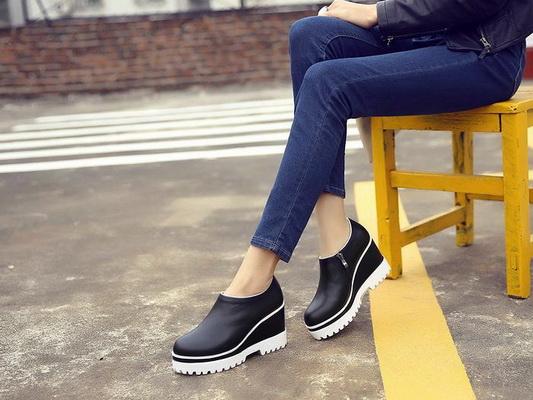 194209415174 CHANEL Platform shoes Women--003 Platform shoes