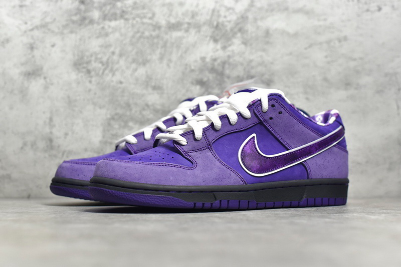 Authentic Nike Dunk SB Concepts Purple Lobster
