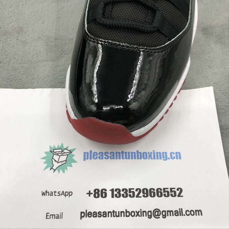 Authentic Air Jordan 11 Bred 2019
