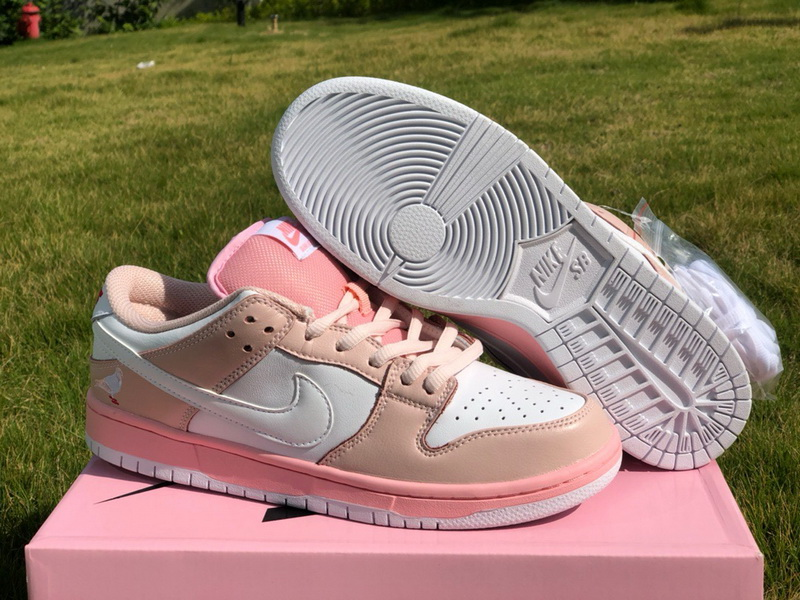 Authentic Nike SB Dunk Low Pigeon Pink