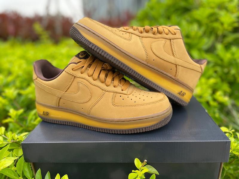 Authentic Nike Air force 1 Wheat Mocha