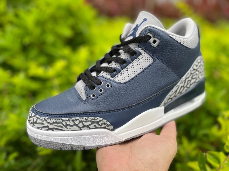 "Authentic Air Jordan 3""Midnight Navy"""