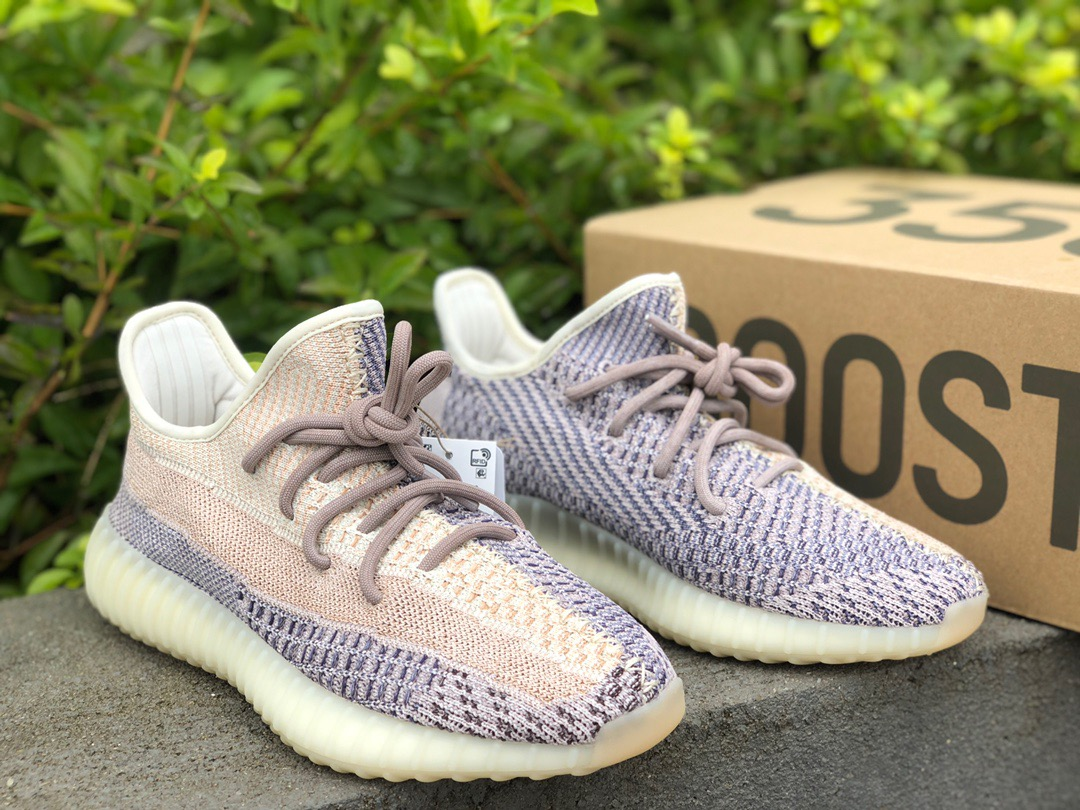 "Authentic Yeezy Boost 350 V2 ""Ash Pearl"""