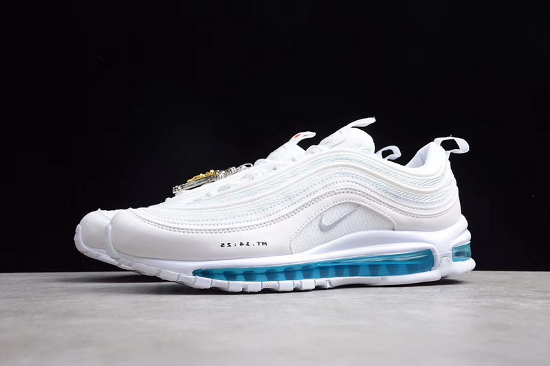 Authentic Nike Air Max 97 MSCHF x INRI Jesus Shoes