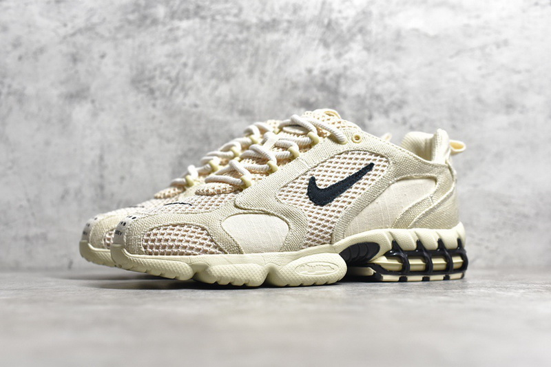 Authentic Stussy x Nike Air Zoom Spiridon Caged 2 GS