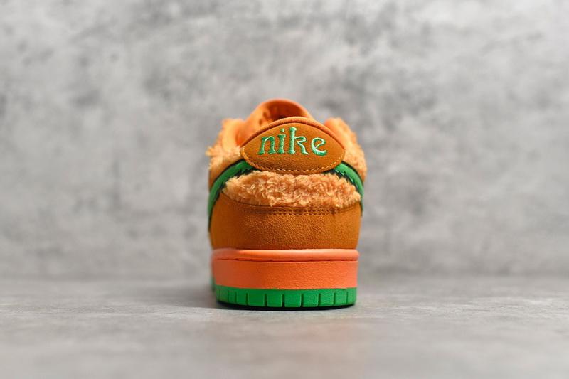 "Authentic Grateful Dead x Nike SB Dunk Low ""Orange Bear"""