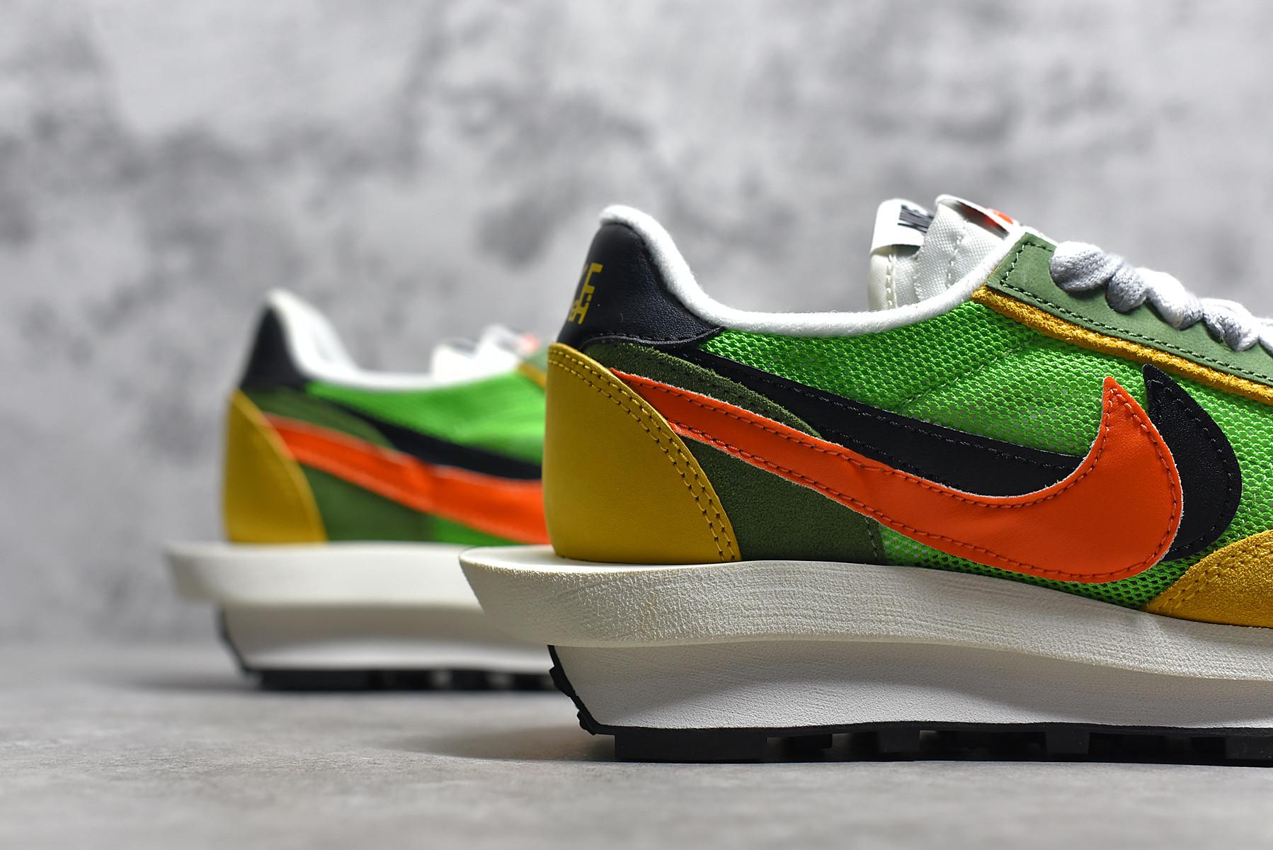 Authentic Sacai x Nike LDV Waffle Shoes-002