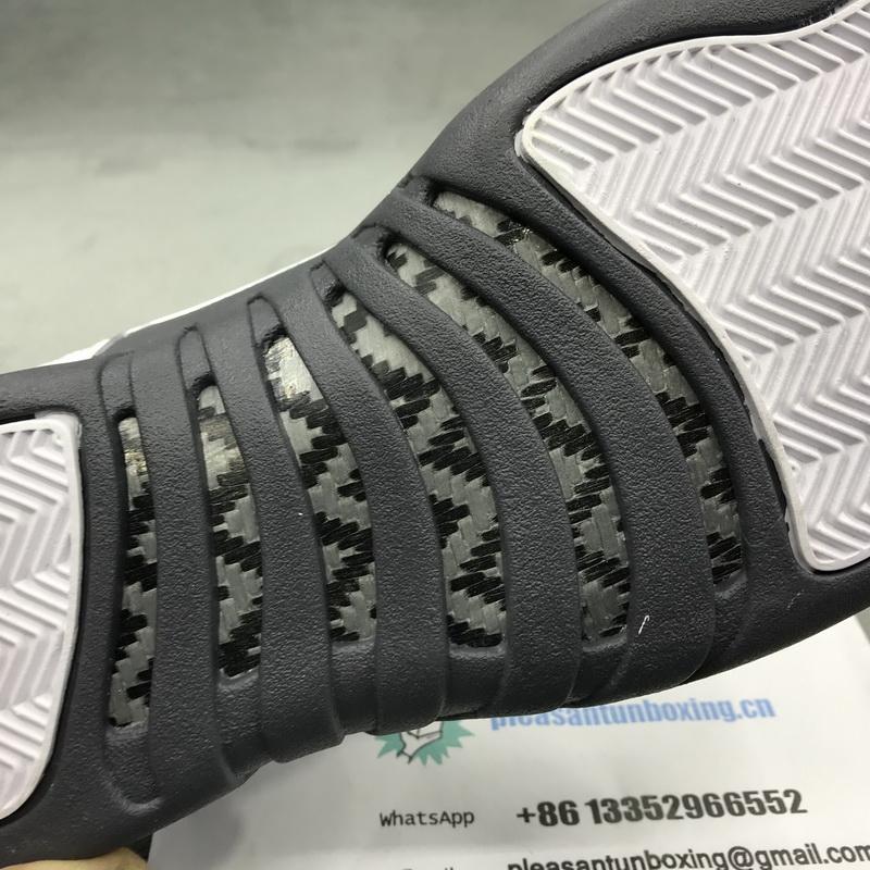 Authentic Air Jordan 12 Retro Dark Grey