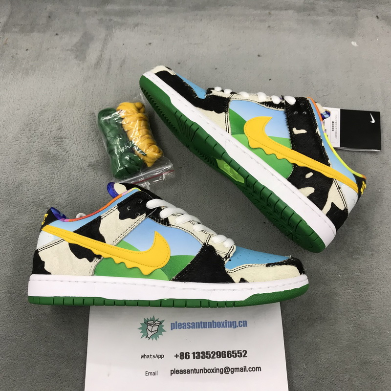 Authentic Ben & Jerry's x Nike SB Dunk Low Pro QS GS