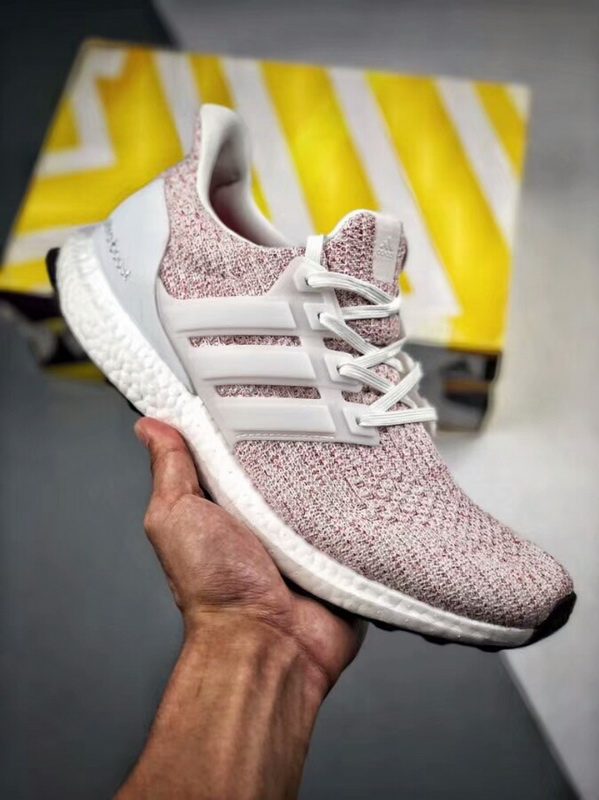huge discount e9f04 c615a Adidas Ultra Boost 4.0 White-Scarlet(98% Authentic quality)